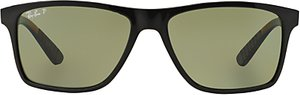 Read more about Ray-ban rb4234 polarised rectangular sunglasses black