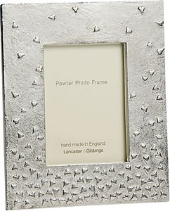 Read more about Lancaster and gibbings floating hearts pewter photo frame