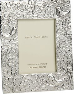 Read more about Lancaster and gibbings bird pewter photo frame