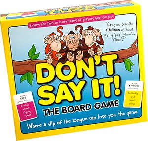 Read more about Don t say it the board game