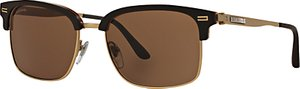 Read more about Bvlgari bv7026 d-frame sunglasses black gold