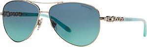 Read more about Tiffany co tf3049b aviator sunglasses silver blue