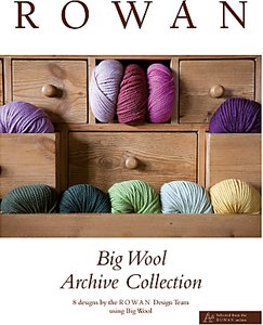 Read more about Rowan big wool archive collection knitting book