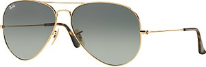 Read more about Ray-ban rb3025 aviator sunglasses gold gradient grey