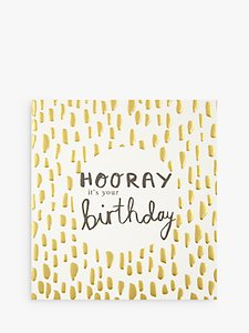 Read more about Caroline gardner hooray it s your birthday card