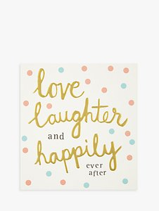 Read more about Caroline gardner love and laughter wedding card