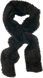 Read more about Chesca faux fur knitted scarf