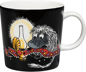 Read more about Finland arabia ancestor moomin mug black