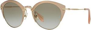 Read more about Miu miu mu53rs cat s eye sunglasses brown