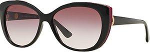 Read more about Bvlgari bv8169q cat s eye gradient sunglasses black claret
