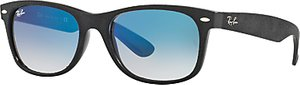 Read more about Ray-ban rb2132 new wayfarer sunglasses black blue gradient