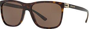 Read more about Bvlgari bv7027 square sunglasses tortoise