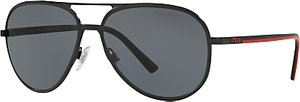 Read more about Polo ralph lauren ph3102 polarised aviator sunglasses black