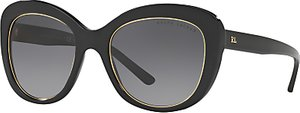 Read more about Ralph lauren rl8149 polarised cat s eye sunglasses black