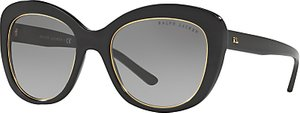 Read more about Ralph lauren rl8149 cat s eye sunglasses black