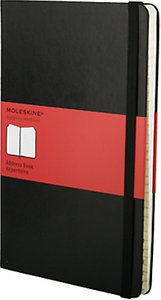 Read more about Moleskine hardcover address book large