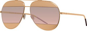 Read more about Christian dior diorsplit1 aviator sunglasses gold blush