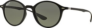 Read more about Ray-ban rb4237 polarised oval sunglasses black grey