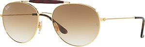 Read more about Ray-ban rb3540 oval sunglasses gold beige gradient