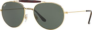 Read more about Ray-ban rb3540 oval sunglasses gold green