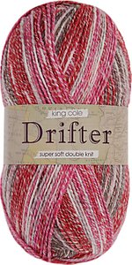 Read more about King cole drifter dk yarn 100g