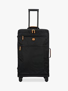 Read more about Bric s x travel 77cm 4-wheel large suitcase black