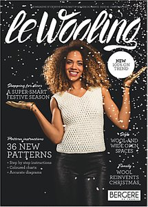 Read more about Bergere de france le wooling magazine 2 christmas knitting patterns