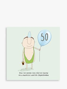 Read more about Rosie made a thing 50th birthday card