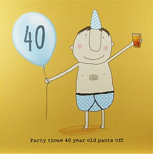 Read more about Rosie made a thing 40th boy birthday card