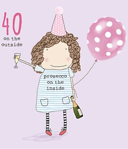 Read more about Rosie made a thing 40th birthday card