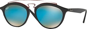 Read more about Ray-ban rb4257 oval sunglasses black mirror blue