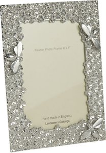 Read more about Lancaster and gibbings bee photo frame 6 x 4 pewter