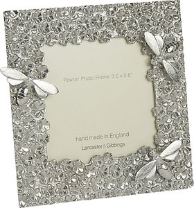 Read more about Lancaster and gibbings bee photo frame 3 5 x 3 5 pewter