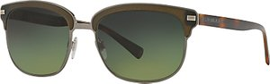 Read more about Burberry be4232 polarised square sunglasses tortoise green gradient