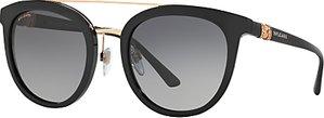 Read more about Bvlgari bv8184b polarised round sunglasses matte black grey gradient