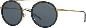 Read more about Emporio armani ea2041 round sunglasses gold blue