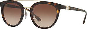 Read more about Bvlgari bv8184b round sunglasses tortoise brown gradient