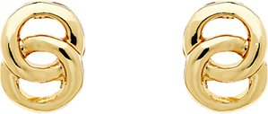 Read more about Monet double ring stud earrings