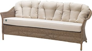 Read more about Kettler rhs harlow carr 3 seater outdoor sofa natural