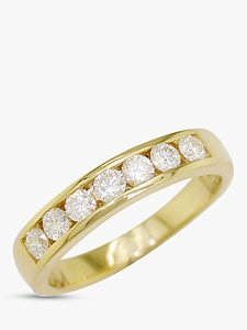 Read more about Ewa 18ct gold diamond eternity ring 0 5ct