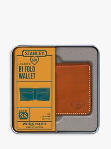 Read more about Stanley bi fold leather wallet tan
