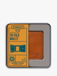 Read more about Stanley tri fold leather wallet tan
