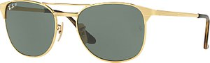 Read more about Ray-ban rb3429m signet polarised square sunglasses gold green