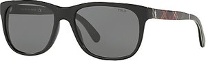 Read more about Polo ralph lauren ph4116 square sunglasses black grey