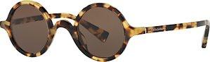 Read more about Dolce gabbana dg4303 round sunglasses tortoise dark brown
