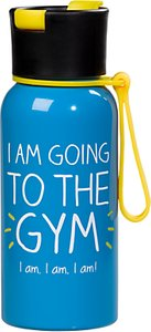Read more about Happy jackson going gym water bottle