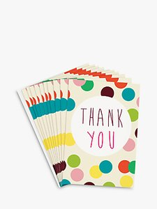 Read more about Caroline gardner dotty thank you notecards set of 10