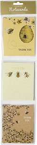Read more about Art file bee thank you notecards pack of 12