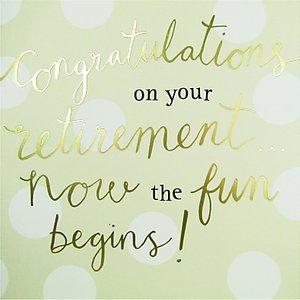 Read more about Caroline gardner retirement greeting card
