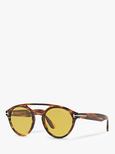 Read more about Tom ford ft0537 clint round sunglasses tortoise yellow